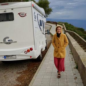 Der Monte Sant'Elia bei nicht ganz so schönem Wetter