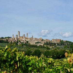 Spektakuläre Silhouette San Gimignano