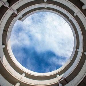 Das neue Parkhaus am Hamburg Airport mal aus einer anderen Perspektive