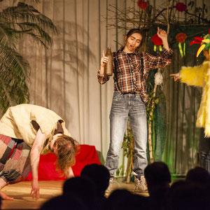 Theater im Gymnasium Schwarzenbek.