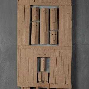 Forgotten summers 13 - Carton - 200 x 200 cm