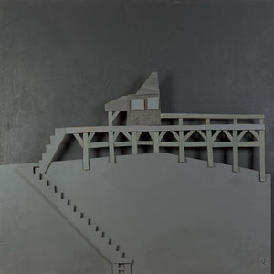 Forgotten summers 2 - 2014 - Carton acrylique - 120x120 cm