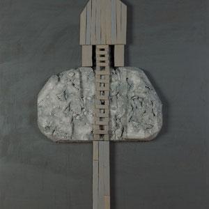 Forgotten summers 9 - Carton polyester - 130x100 cm