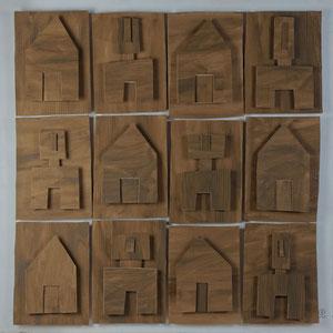 Forgotten summers 6 - Carton - 120x120 cm