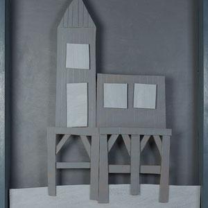Forgotten summers 1 - 2013 - Carton acrylique - 120 x 80 cm