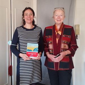 Bérengère Cournut, lauréate du prix Marcel-Aymé ; Martine Coutier, présidente de l'ALAC.