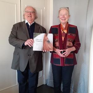 Jean-Claude Barbeaux, lauréat du prix Lucien-Febvre ; Martine Coutier, présidente de l'ALAC.