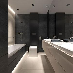 Projekt nowoczesnej łazienki w Nowym Sączu