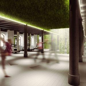 City Ecosystem Of Ideas. Projekt rewitalizacji obiektów dawnej fabryki cygar przy ulicy Dolnych Młynów w Krakowie