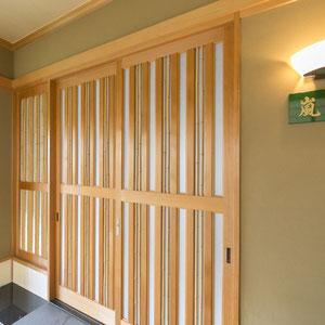 玄関木戸表札