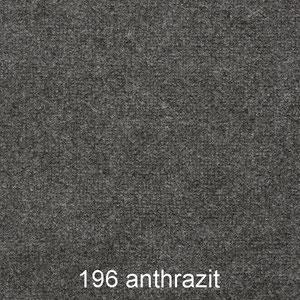 Teppich: Rips-meliert in der Farbe 196 anthrazit für Messen, Events und Veranstaltungen von expoCarpets & more
