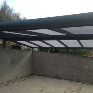 Une gamme de carport en structure aluminium Profilés thermolaqués, avec une excellente résistance au temps.