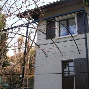 fabrication arche de tonnelle pour plante grimpante