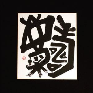 「壽慶」お祝い用色紙