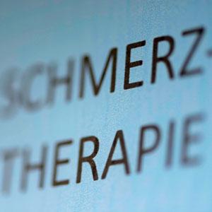 <h1>Schmerz- therapie