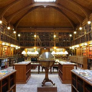 La bibliothèque de l'Hôtel de ville