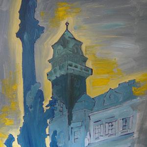 Leibnitz Rathaus / Acryl