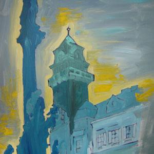 Leibnitz Rathaus /Acryl