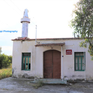 The primary school in Massari village. Now a mosque