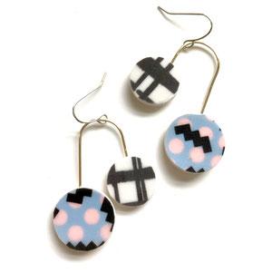 80's style earrings