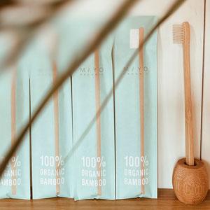 Miyo-oeganic- 竹歯ブラシ