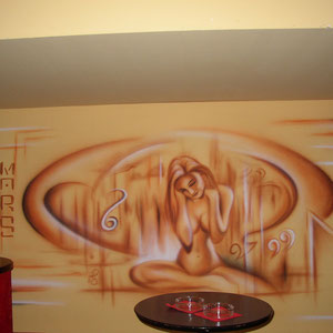 Wallpainting / Lokal
