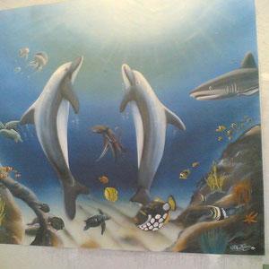 Außenfassade / Restaurant Delphin
