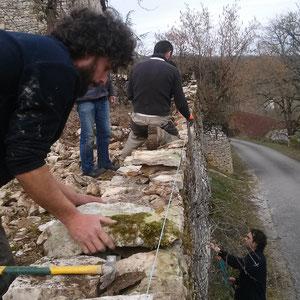 le mur du fond reprend forme (28/02/15)