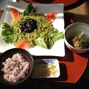 ジャジャ麺風定食