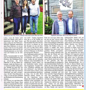 Bericht aus dem Taubenmarkt Nr. 11`2016 Horst Passmann 80 Jahre