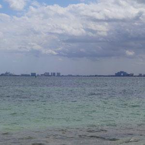 Cancun aus der Ferne