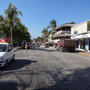Beachroad von Puerto Escondido