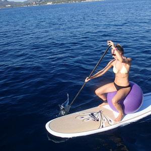 Zum Ende noch ein bisschen relaxtes paddeln…