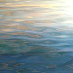 Reflejos. Oleo sobre lienzo100 x 100cm.*