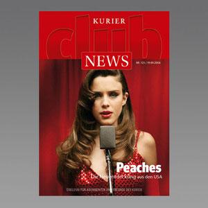 Basiskonzept Abo-Kunden-Magazin KURIER CLUB NEWS