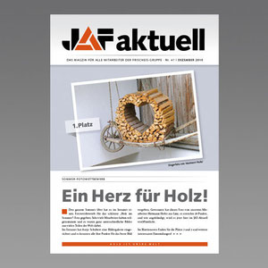 Konzept und Produktion Kundenmagazin JAF Frischeis Holzgroßhandel