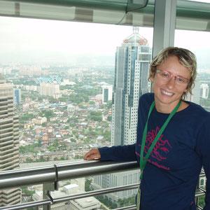 Blick von TwinTowers in Kuala Lumpur
