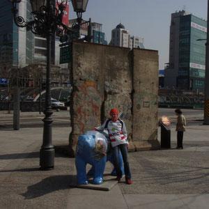 Seoul - Berliner Mauer und Bär