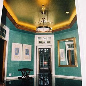 22k Gold Leaf Ceiling (2003)