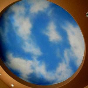 Airbrushed Sky 8' x 8' (Private Residence 2006)