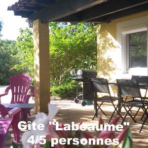 Gîte Labeaume 4/5 personnes - à Pradons près de Ruoms en Sud Ardèche