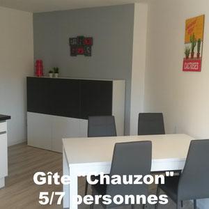 Gîte Chauzon 5/7 personnes - à Pradons près de Ruoms en Sud Ardèche