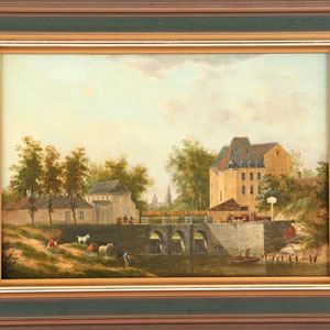 DOMINIQUE DE BAST (1781-1842)   Taxatiewaarde: 2.950,= euro