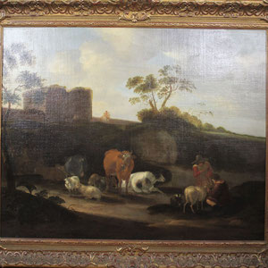 DIRCK VAN BERGEN (1645-1699)   Taxatiewaarde: 11.500,= euro