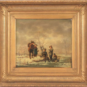 GERRIT HENDRIK GOBELL (1786-1833)   Taxatiewaarde: 5.000,= euro