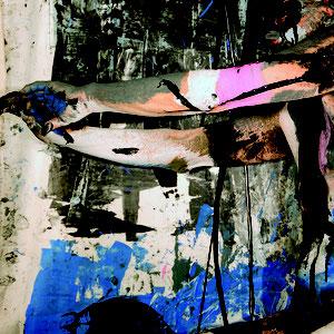 -1-N&F-Peinture sur Corps Photographie sur toile/160x106Ed limitée 5 exemplaires// 50x70 de 10 ex