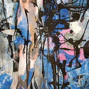 -2-N&F-Peinture sur Corps Photographie sur toile/146x106Ed limitée 5 exemplaires// 50x70 de 10 ex