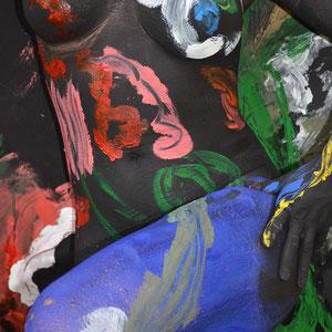 -2-S&P-Peinture sur Corps Photographie sur Toile-