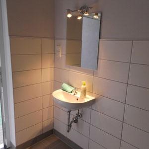 Waschhbecken Damentoilette