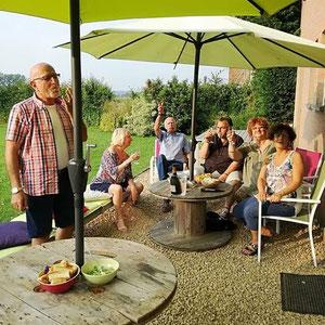 La Maison du Vivier, gîte Durbuy - Terrasse